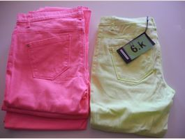 4 Paar Only Skinny Low Liva Pant, 6k