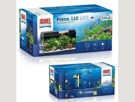 Juwel Primo 110 LED Aquarium Set,schwarz