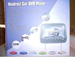 Headrest Car DVD Player 2 STK.