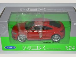Audi TT Coupe 2014 , Welly , 1:24