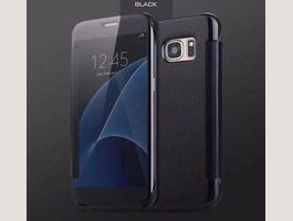 GALAXY S7 Edge Clear View Spiegel Cover