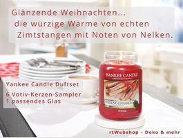 Yankee Candle Sparcling Cinnamon Duft-