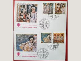 VATIKAN FDC Caritas Internationalis 1990