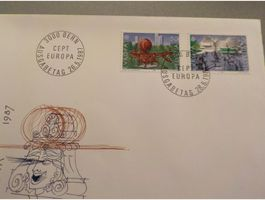 1987, FDC, Europa, Serie