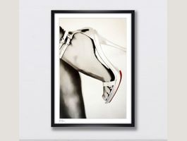 Christian Louboutin Fashion Pop Art Deko