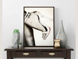 Christian Louboutin Shoes Pop Art Kunst
