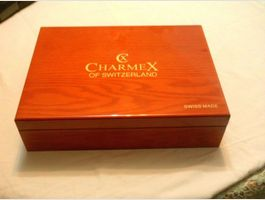 5 X CHARMEX Uhrenbox ,SWISS MADE