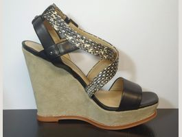 Designer Wedges Kenneth Cole in Leder