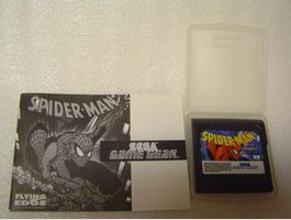 Spider-Man  Sega Game Gear - Vintage