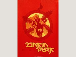 Linkin Park Red Soldier Poster