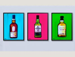 Laphroaig Lagavulin Pop Art Whisky Dekor
