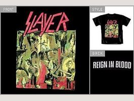 Slayer T-Shirt Reign in Blood S