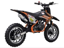 Mini Dirt Bike HIGH-PER - Schwarz/Orange