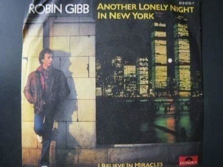 Vinyl Single Robin Gibb - Another Lonely