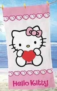 Hello Kitty Hearts new - Badetuch
