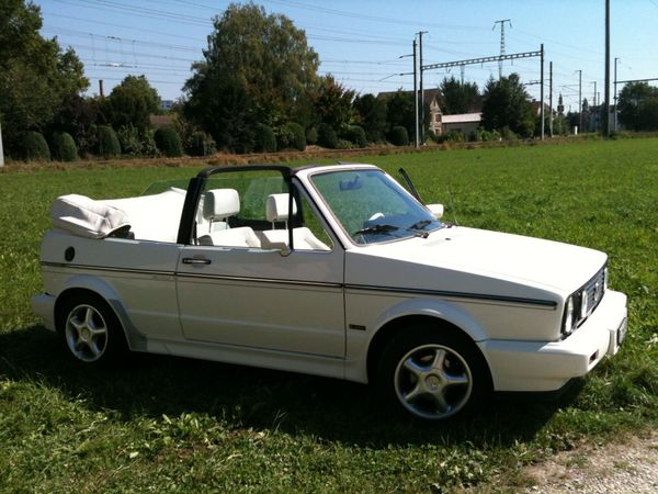 VW Golf Cabriolet 1800 GL Quartett/Special/White