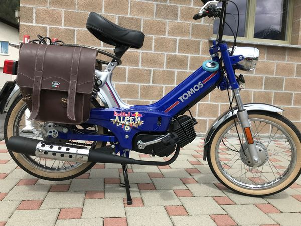 Tomos RED Bull Edition