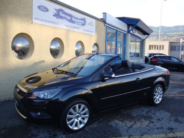 ford focus coup cabrio 16v titanium in sachseln. Black Bedroom Furniture Sets. Home Design Ideas