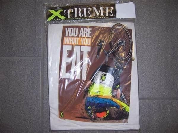 Xtreme T-Shirt What you eat