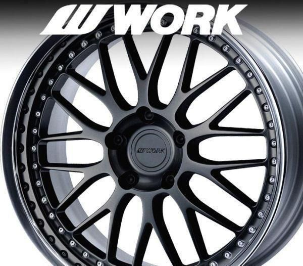 WORK VS-XX 8.5x20/11x20 Porsche 996/997