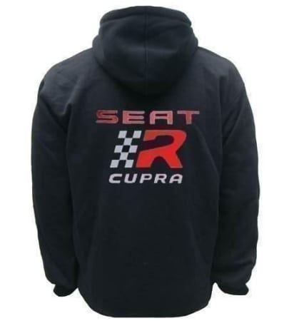 seat cupra hoodie kapuzenjacke in bad bederkesa kaufen bei. Black Bedroom Furniture Sets. Home Design Ideas