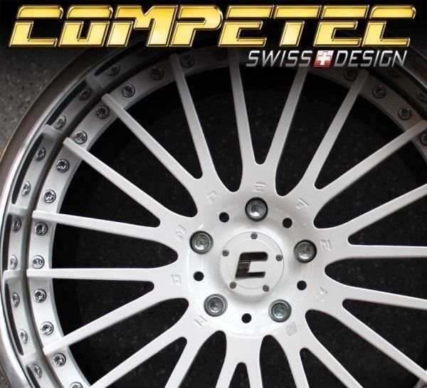 "COMPETEC by WORK 20"" 5x120 BMW Opel"