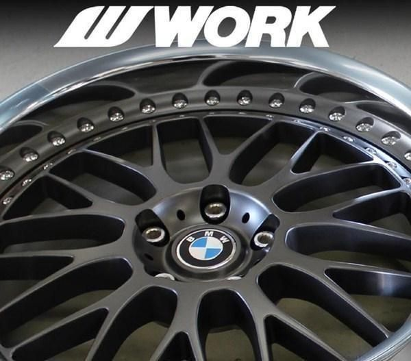 "Work VS-XX 20"" 5x120 BMW Opel GM"