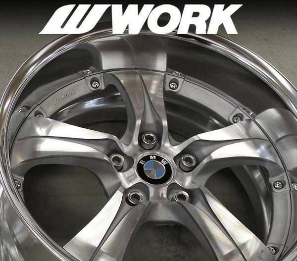 "WORK TS1 18""/19"" Stufenbett 5x120 BMW GM"
