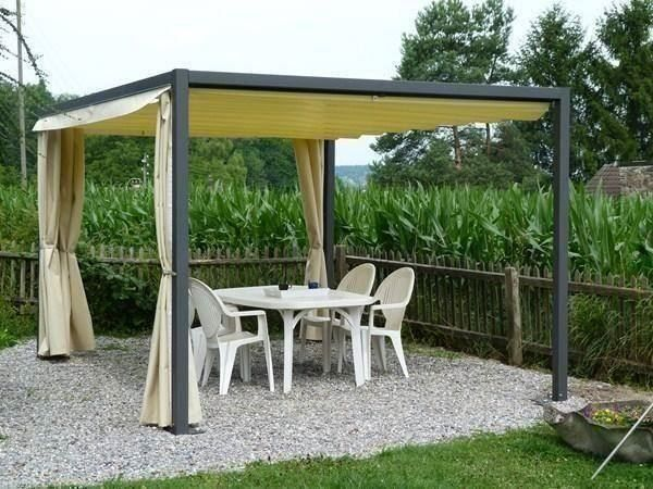pergola faltpergola pergolastore 3x3m in d niken kaufen bei. Black Bedroom Furniture Sets. Home Design Ideas