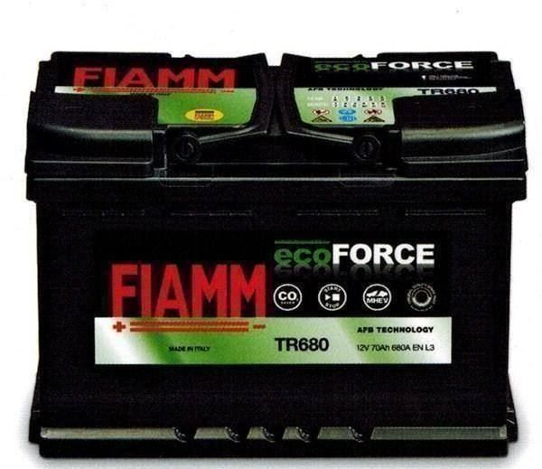 Autobatterie Fiamm 12V  70Ah  680A  AFB