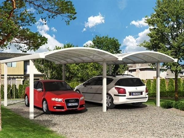 aluminium doppel bogen carport 600 x 500 dietikon acheter sur. Black Bedroom Furniture Sets. Home Design Ideas