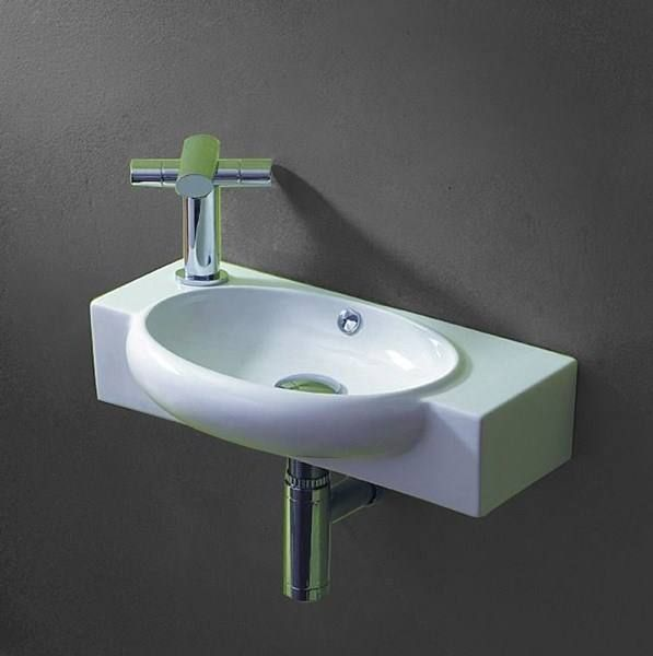 g ste wc waschbecken keramik nano lavabo in tr llikon. Black Bedroom Furniture Sets. Home Design Ideas