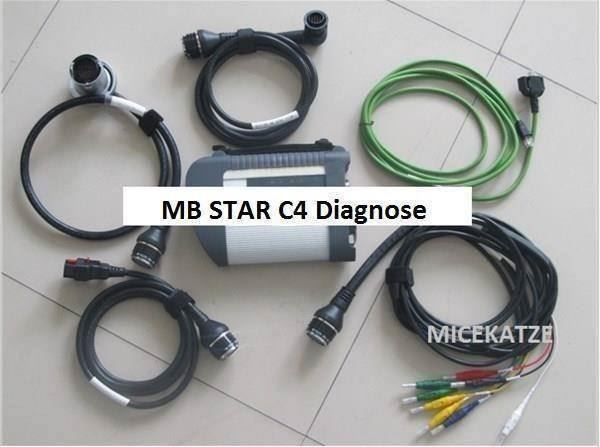 MB SD Star C4 SET incl. Software DEUTSCH