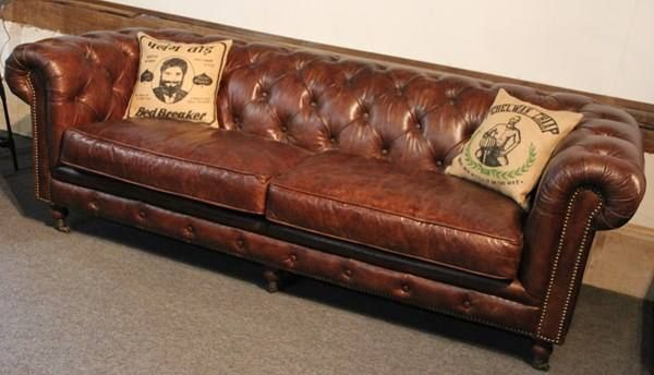 vintage leder chesterfield sofa in cressier kaufen bei. Black Bedroom Furniture Sets. Home Design Ideas