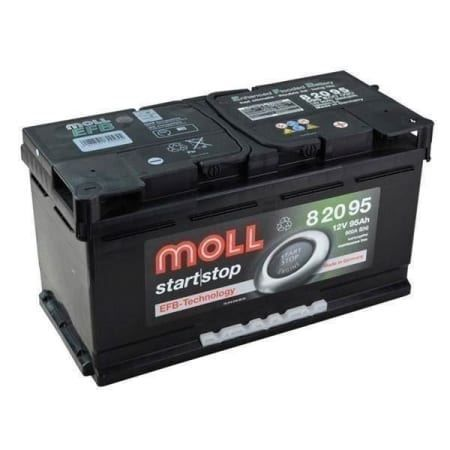 Autobatterie Moll EFB 82095 95Ah 900A