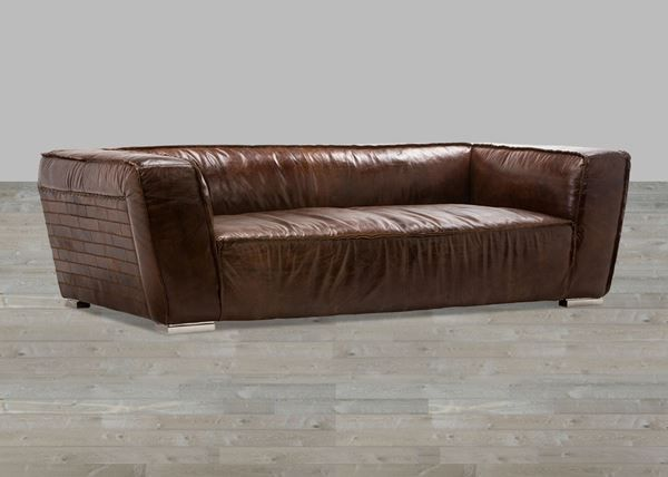 sofa braun leder in cressier kaufen bei. Black Bedroom Furniture Sets. Home Design Ideas