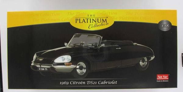 CITROEN DS21 CABRIO BLACK 1:18 SUNSTAR - 16.02.2015 11:57:00 - 1