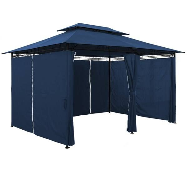 pavillon gartenpavillon 4 x 3 m blau in nussbaumen kaufen. Black Bedroom Furniture Sets. Home Design Ideas