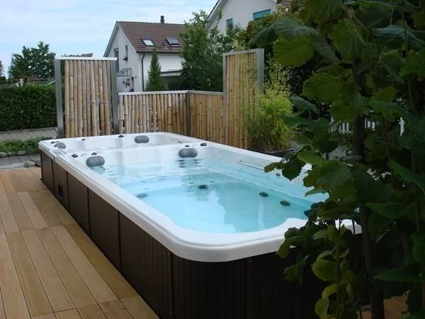 ausstellungsmodel schwimspa swimmingpool in niederweningen kaufen bei. Black Bedroom Furniture Sets. Home Design Ideas