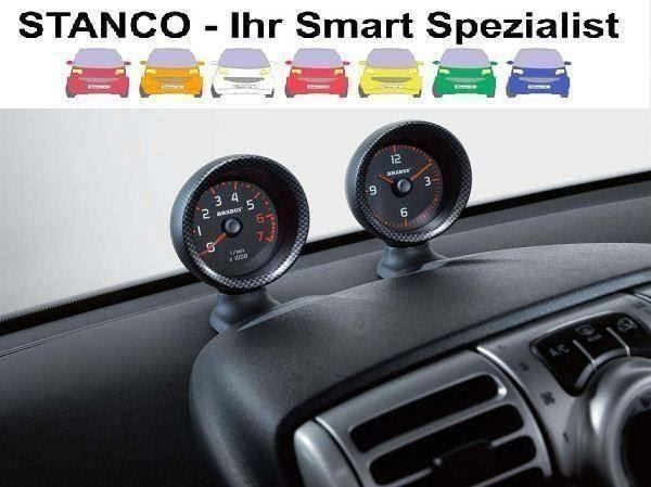 Smart For Two 451 Uhr Drehzahlmesser SET