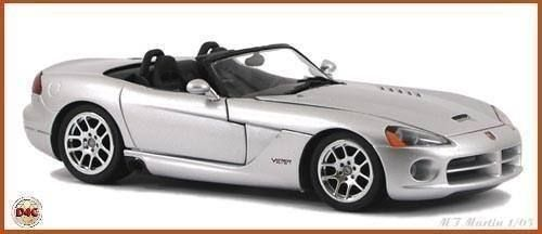 dodge viper cabrio 2003 1 24 franklin in suhr kaufen bei. Black Bedroom Furniture Sets. Home Design Ideas