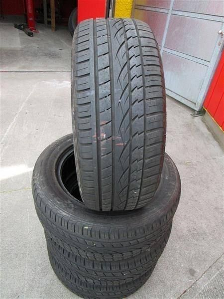 4 stk. Continental 255 / 55 R 19 Sommer