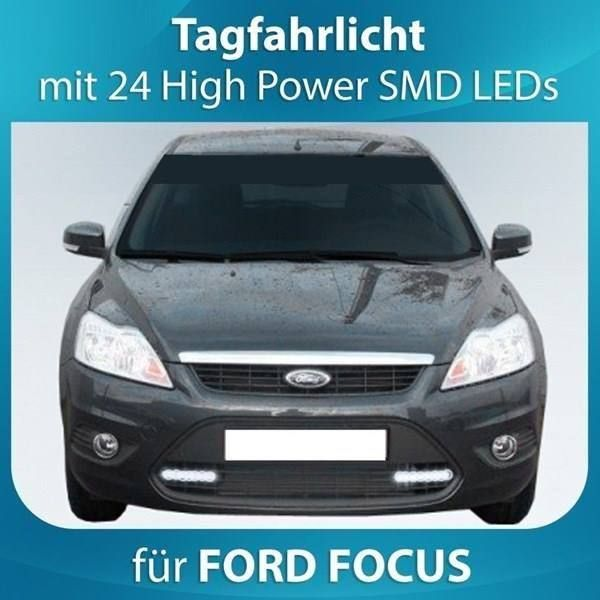 LED Tagfahrlicht FORD FOCUS inkl. Modul