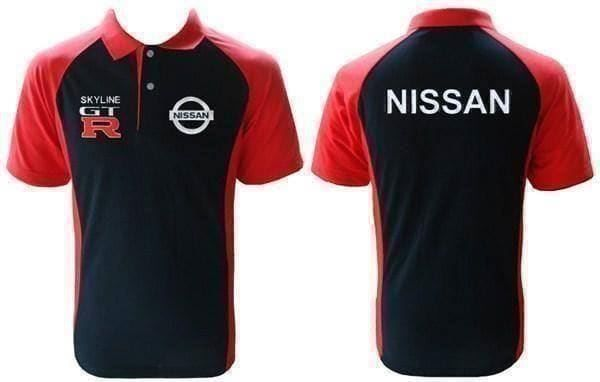Nissan GTR Polo Shirt