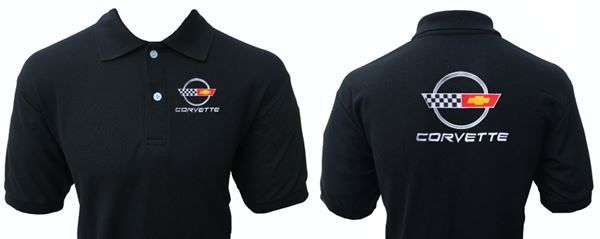 Corvette C4 Polo Shirt