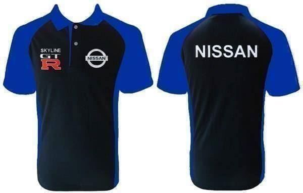 Nissan GTR Skyline Polo Shirt