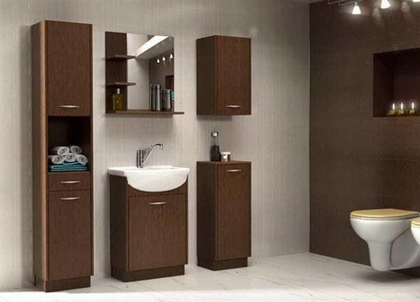 badm bel set wenge braun badezimmerm bel in tr llikon kaufen bei. Black Bedroom Furniture Sets. Home Design Ideas