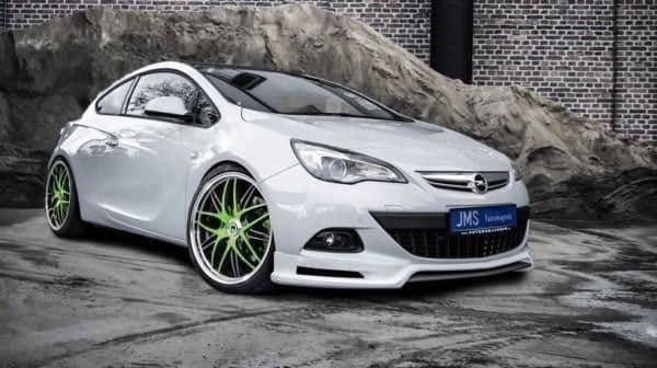 JMS Spoilerlippe Opel Astra J GTC Coupe