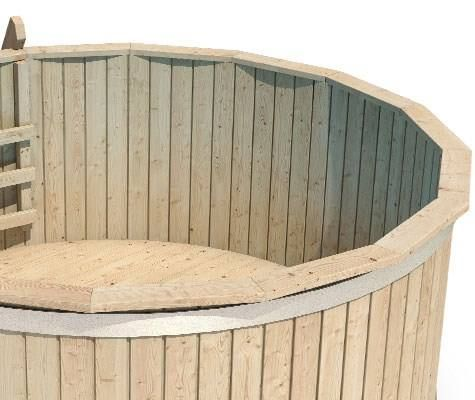 holzpool holzbad swimmingpool in dachsen kaufen bei. Black Bedroom Furniture Sets. Home Design Ideas