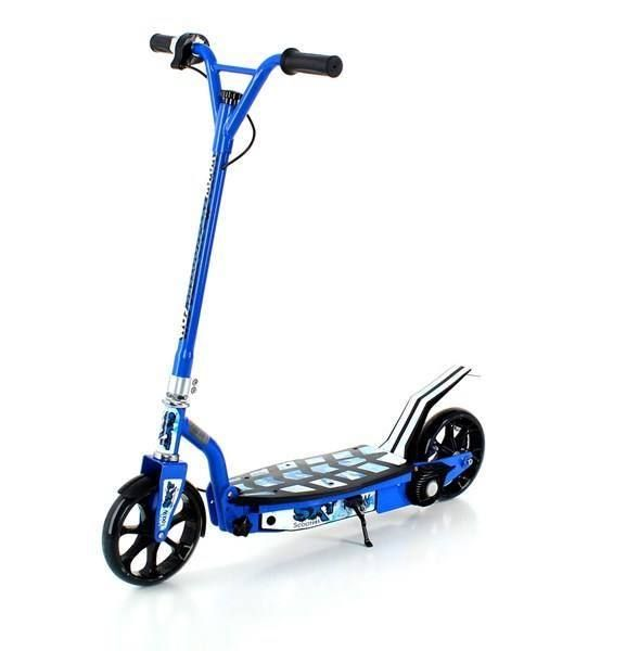 sxt100 blau elektro scooter kinder 100 w in heldswil. Black Bedroom Furniture Sets. Home Design Ideas